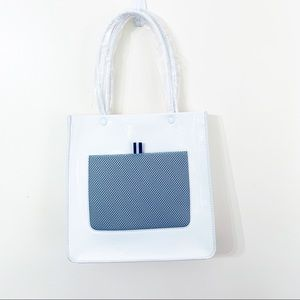 Urban Outfitters White Magazine Tote NWT